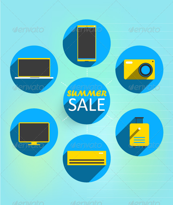 Summer sale banner - Commercial / Shopping Conceptual