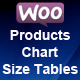 Woocommerce Product Chart Sizes Table - CodeCanyon Item for Sale