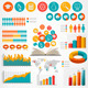 Big Set of Flat Education Infographics Elements - GraphicRiver Item for Sale