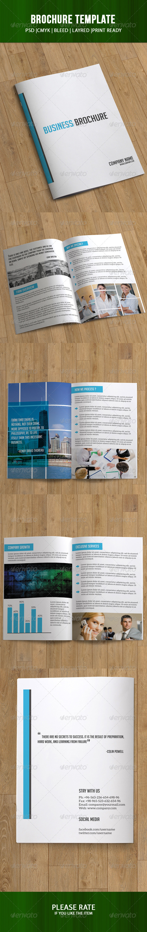 Bifold Business Brochure-8 Pages - Corporate Brochures