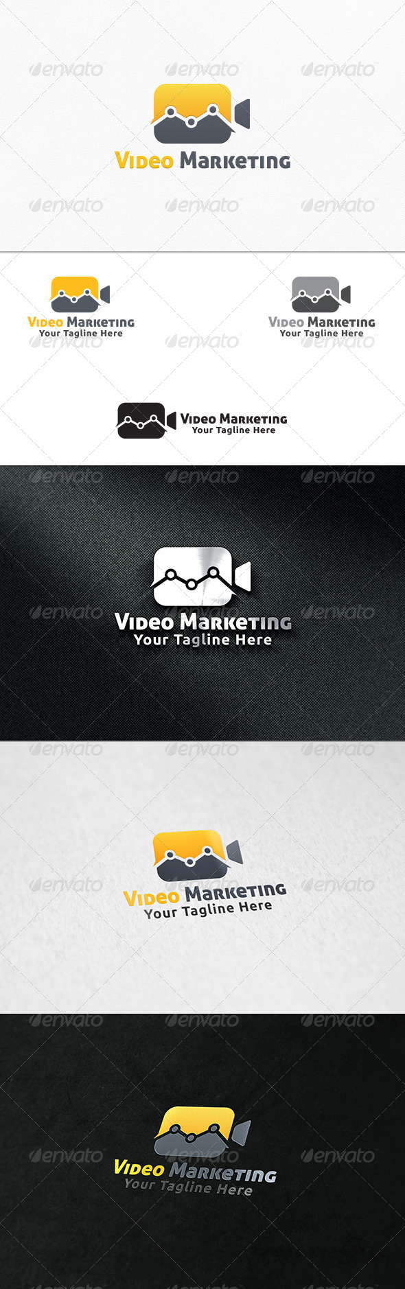Video Marketing - Logo Template - Symbols Logo Templates