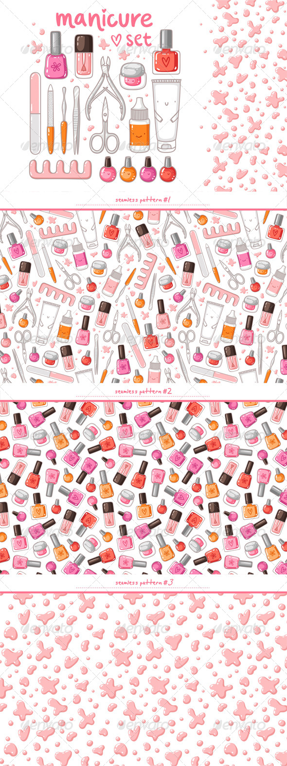 Manicure - Miscellaneous Vectors