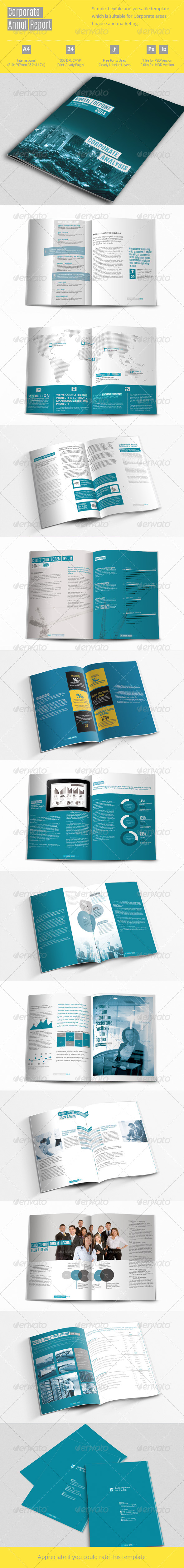 Corporate Annual Report - Informational Brochures