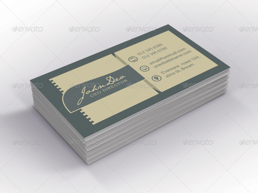 Wine Business Card by -axnorpix | GraphicRiver
