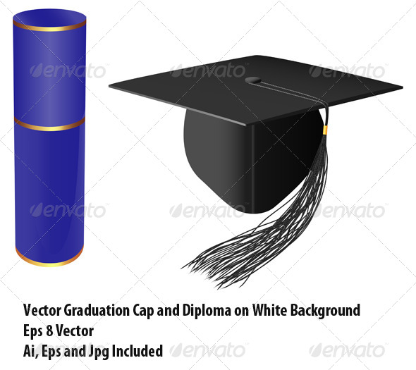 Graduation - Miscellaneous Vectors
