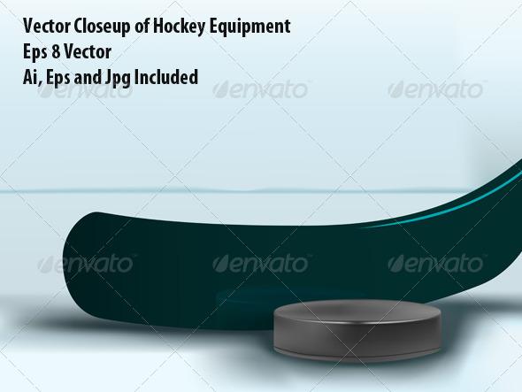 Hockey - Sports/Activity Conceptual