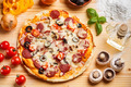 Whole baked pizza - PhotoDune Item for Sale