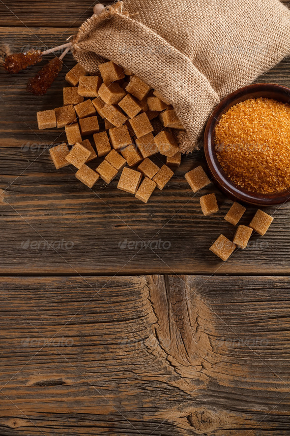 Brown sugar concept - Stock Photo - Images