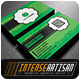 IntenseArtisan Business Card Vol.59 - GraphicRiver Item for Sale