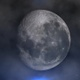 Full Moon Through Clouds - VideoHive Item for Sale