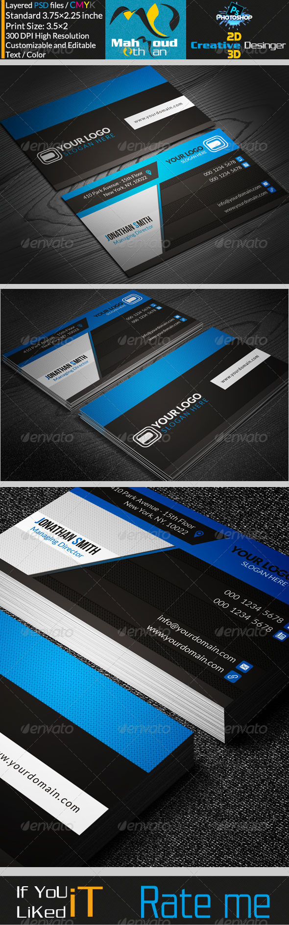 Creative studio Business Card 03 - Corporate Business Cards