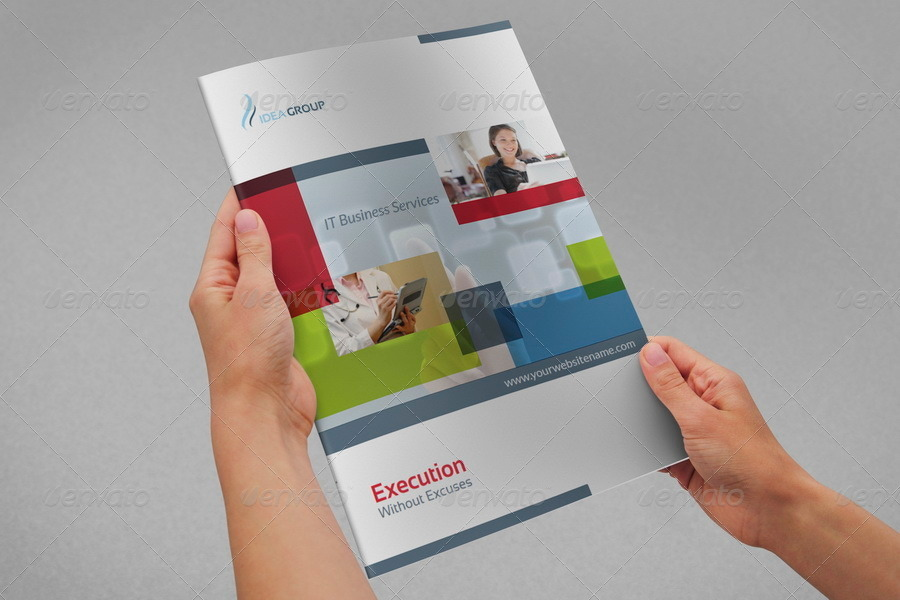 It company brochure design template 12 pages by for Brochure templates envato