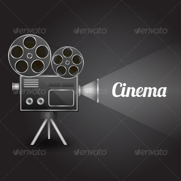 Cinema Entertainment Poster - Backgrounds Decorative