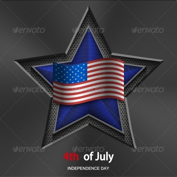 4th of July Background Independence Day - Miscellaneous Seasons/Holidays