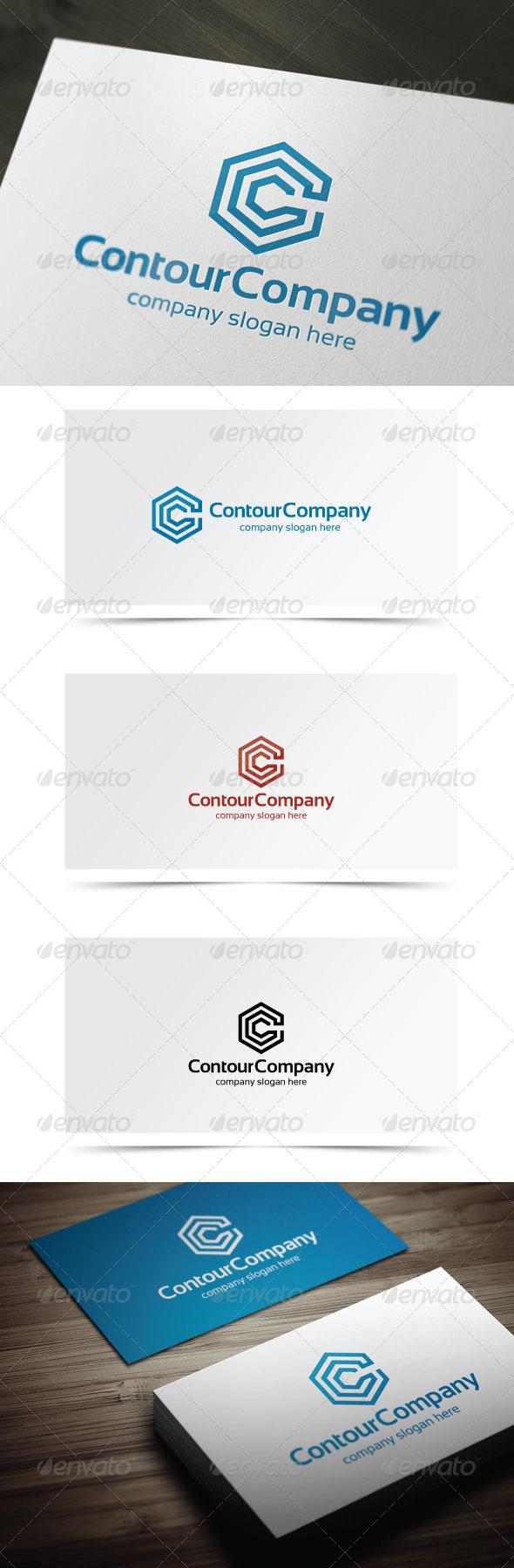 Contour Company - Company Logo Templates