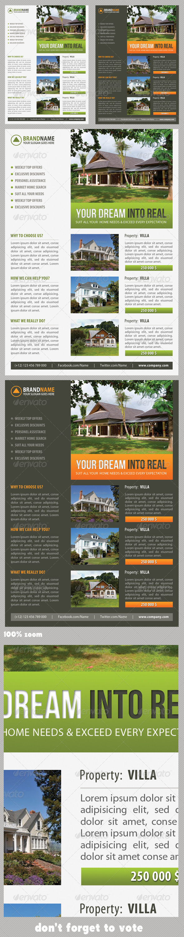 Real Estate Corporate Flyer 08
