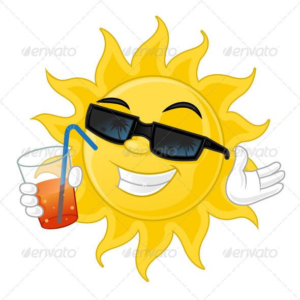 Cool Sun - Characters Vectors