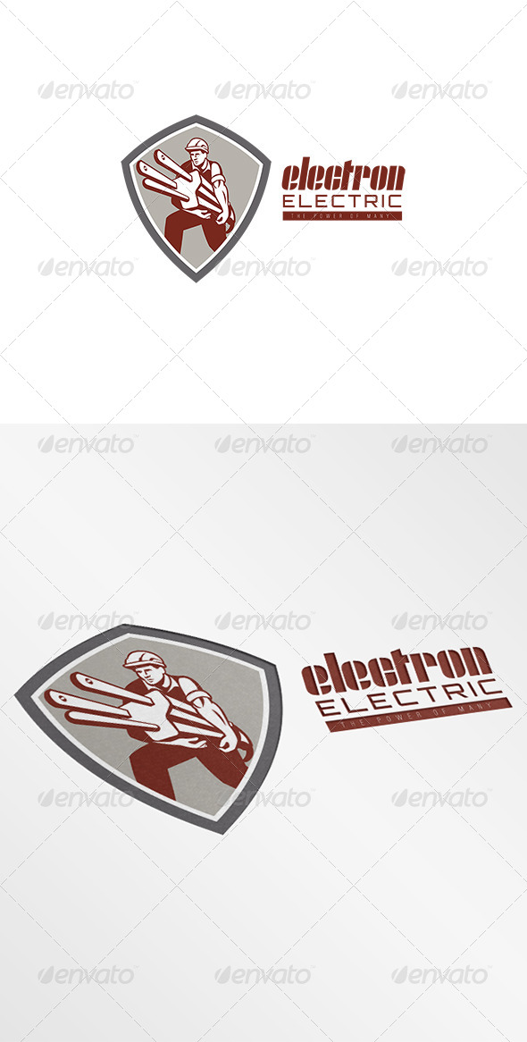 Electron Electric Power Logo - Humans Logo Templates