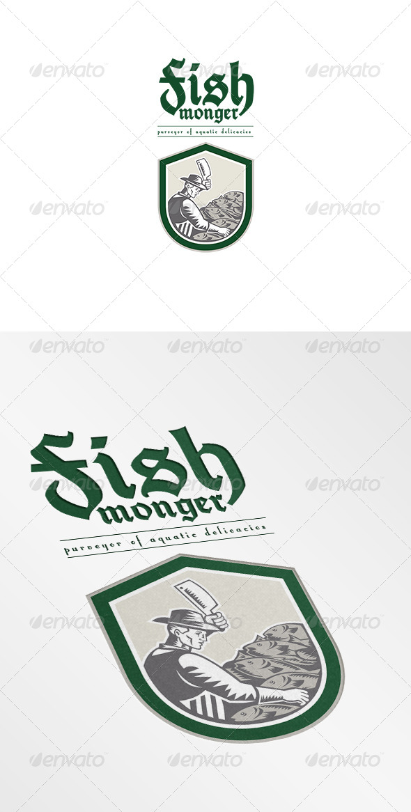 Fishmonger Logo - Humans Logo Templates