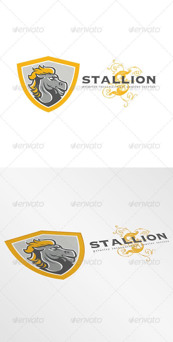 Stallion Courier Services Logo - Animals Logo Templates