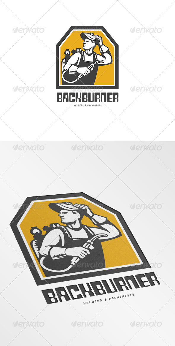 Backburner Welders Logo - Humans Logo Templates