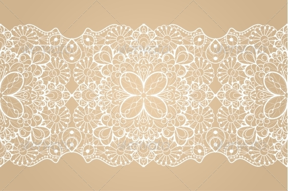 Seamless Lace Ribbon - Patterns Decorative