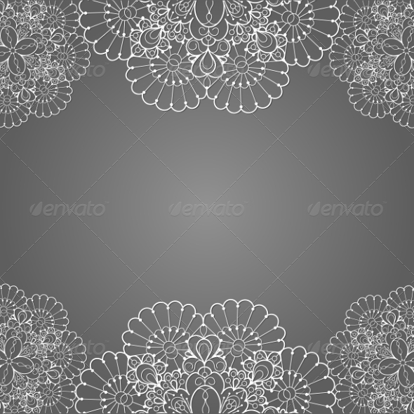 Lace Background - Backgrounds Decorative