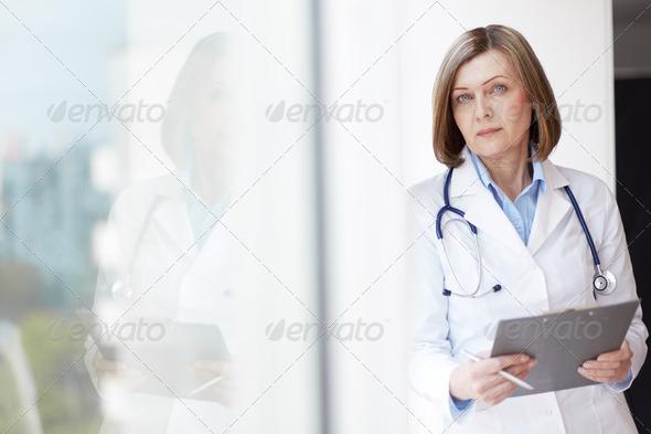 Female practitioner - Stock Photo - Images