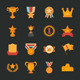 Prizes and Awards Icons - GraphicRiver Item for Sale
