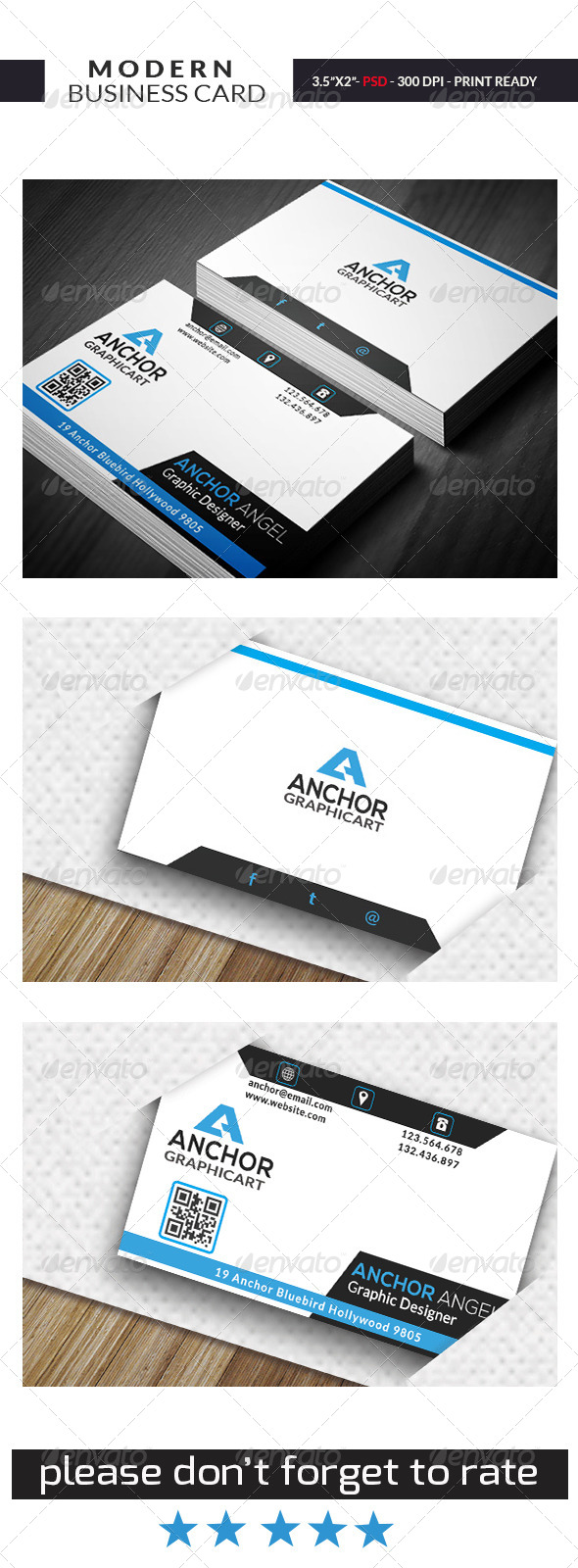 Modern Business Card 07 - Business Cards Print Templates