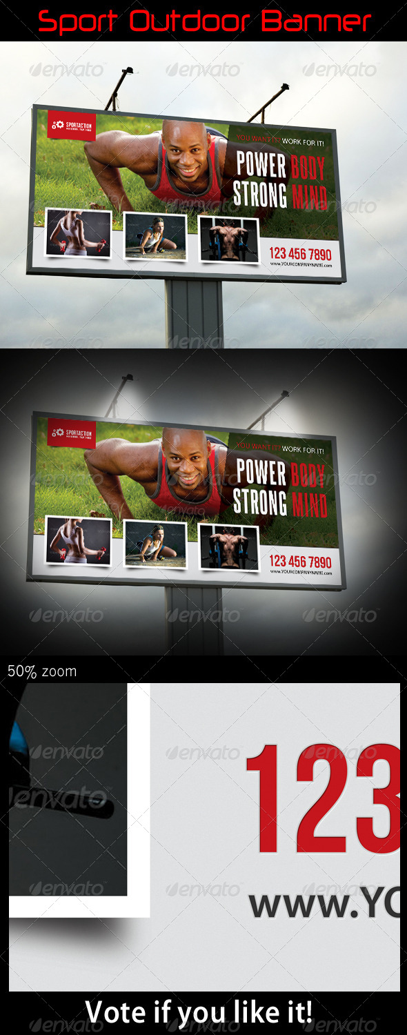 Sport Outdoor Banner 07 - Signage Print Templates