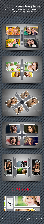 Photo Frame Templates - Photo Templates Graphics