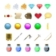 Fantasy Game Icons - GraphicRiver Item for Sale