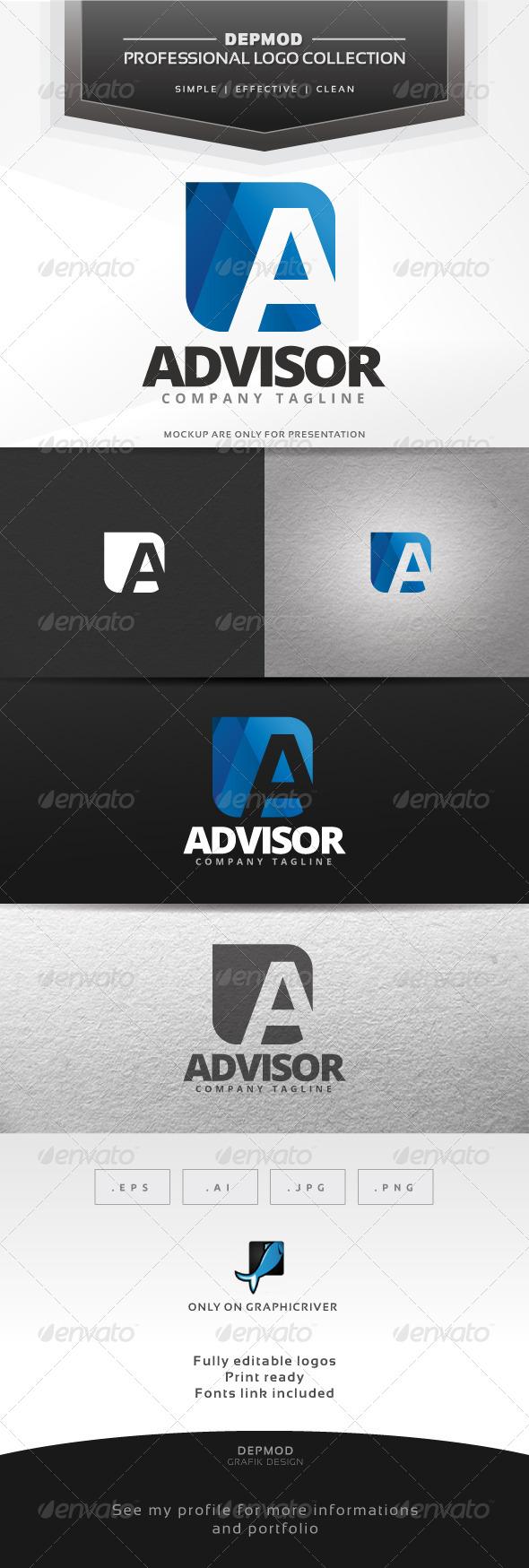 Advisor Logo - Letters Logo Templates