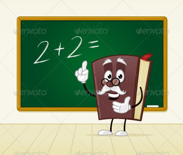 Book Teacher - Objects Vectors