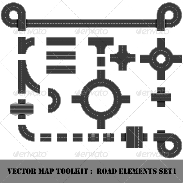 Map Toolkit. Top View Position.  - Buildings Objects