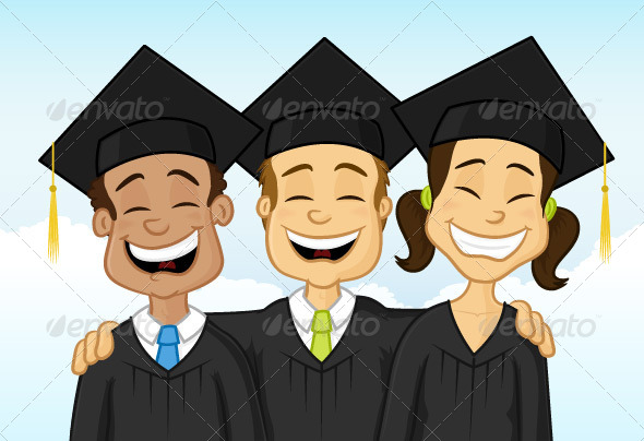 Graduates - People Characters