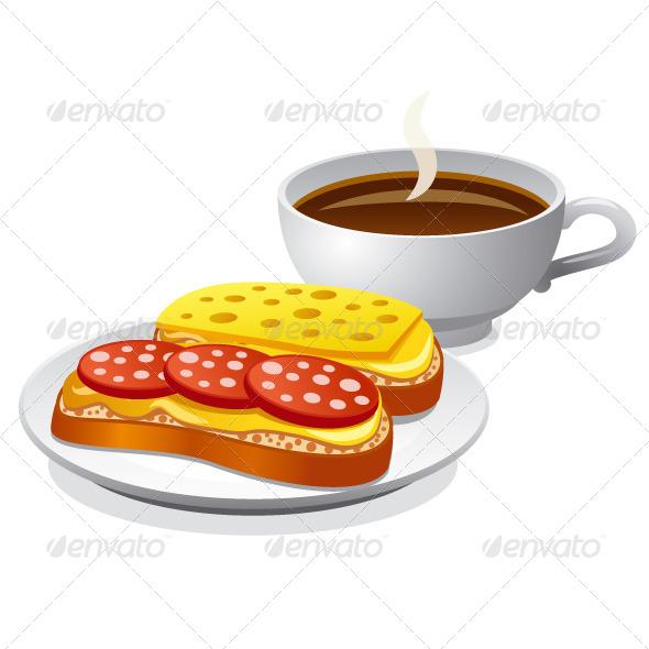 Breakfast - Vectors