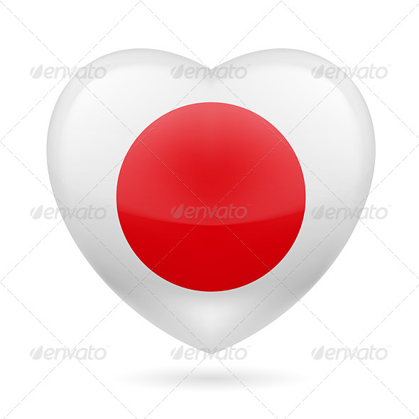 Heart Icon of Japan - Miscellaneous Vectors