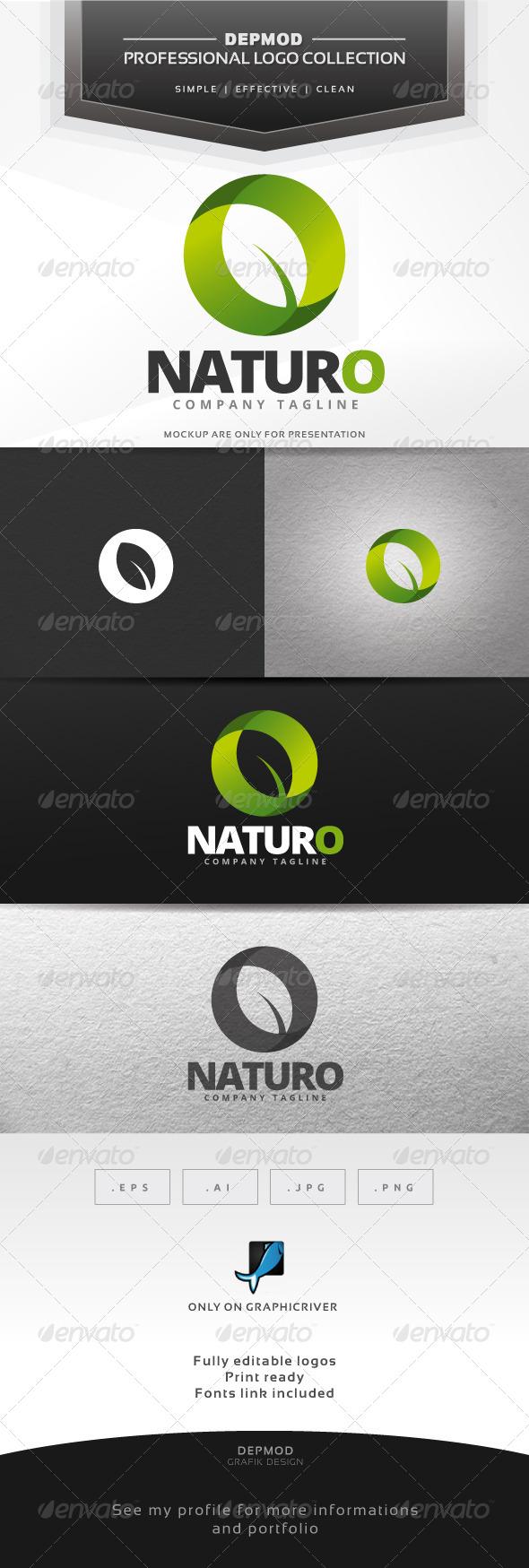 Naturo Logo - Symbols Logo Templates