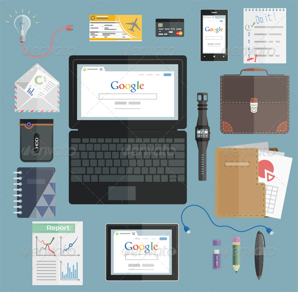 Business Set - Business Icons
