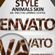 Animals Skin Effects   Styles - GraphicRiver Item for Sale