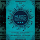 Music Electro Flyer Template - GraphicRiver Item for Sale