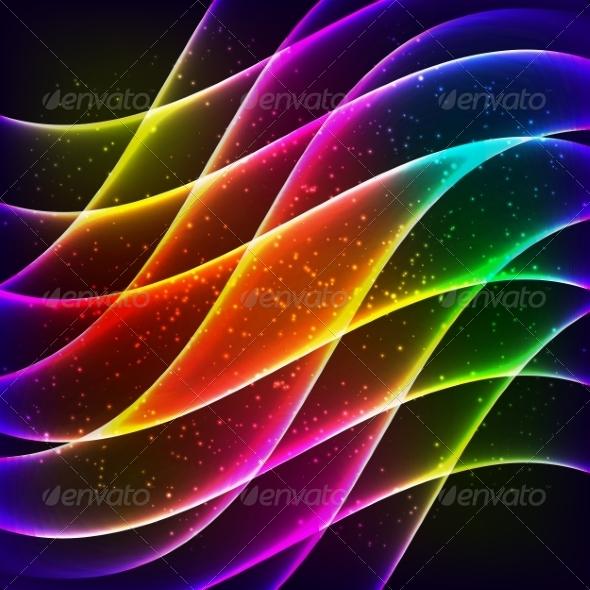 Rainbow Background - Backgrounds Decorative