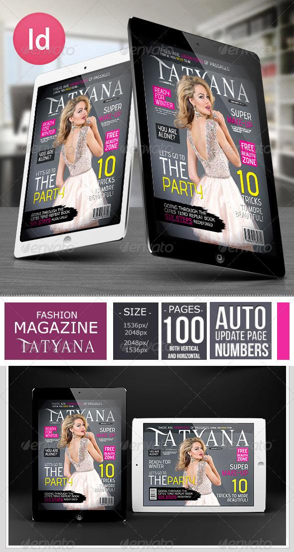 Fashion Tablet Magazine Issue 1 - Digital Magazines ePublishing