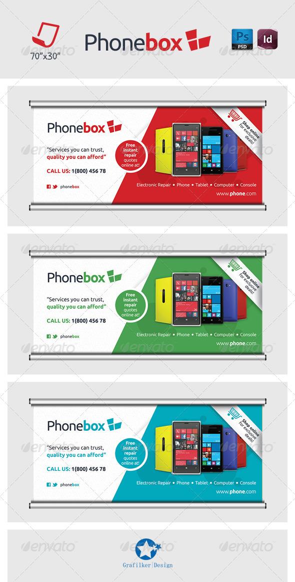 Technology Billboard Templates - Signage Print Templates