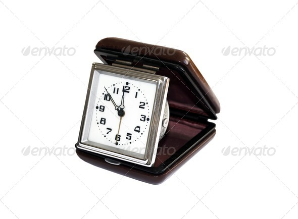 retro clock  - Stock Photo - Images