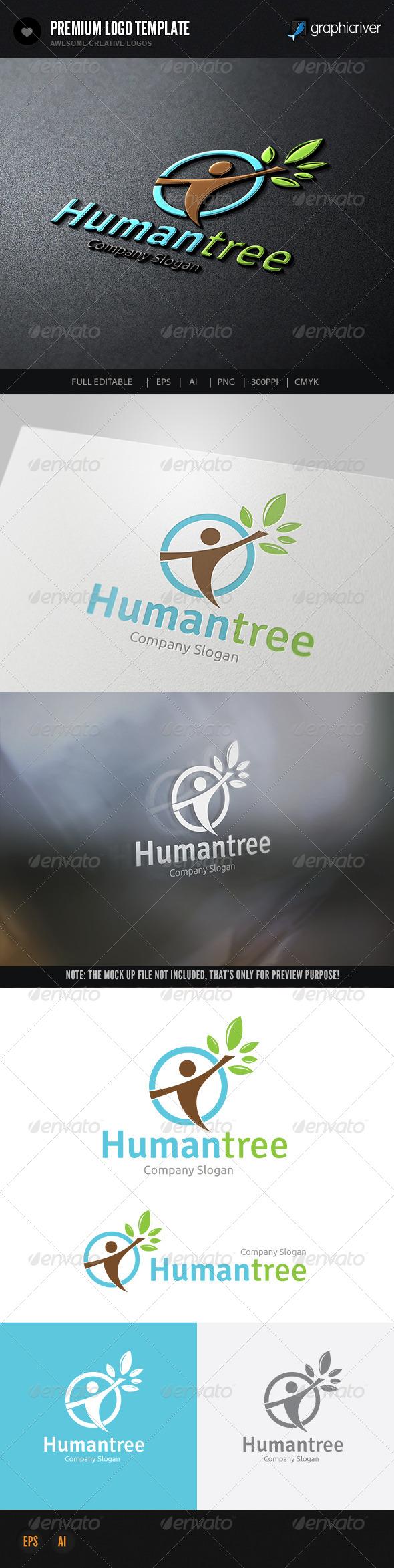 Human Care - Humans Logo Templates