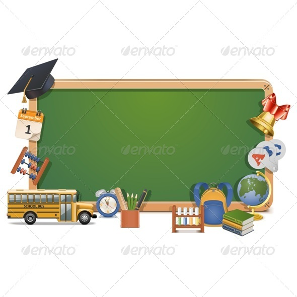 Vector Schooling Board - Retail Commercial / Shopping