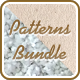 Paper and Fabric Patterns Bundle - GraphicRiver Item for Sale
